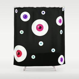 Hypno test Shower Curtain