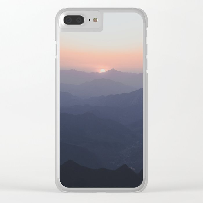 The Great Wall of China III Clear iPhone Case