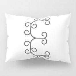 "Letter ""E"" in beautiful design Fashion Modern Style Pillow Sham"