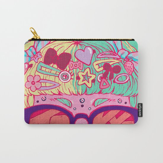 Tokyo Travel Poster Carry-All Pouch
