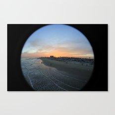 Pleasure Pier Sunset Canvas Print