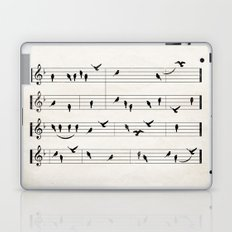 Black Birds Laptop & iPad Skin