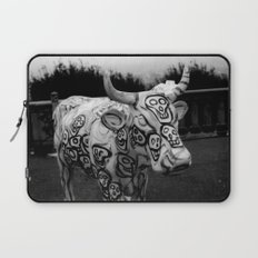 Skull Cow Laptop Sleeve