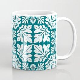 (Taigā Masuku – Tiger Mask) PATTERN/GREEN ORNAMENT Coffee Mug