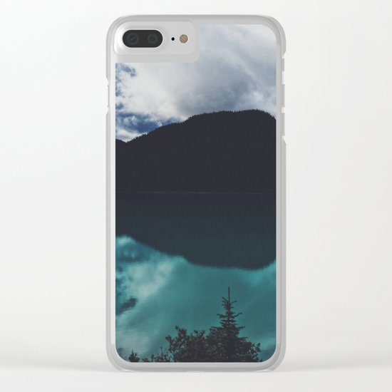 Hector Lake, Banff, Canada Clear iPhone Case