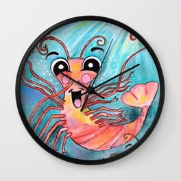 K is for Krill Wall Clock