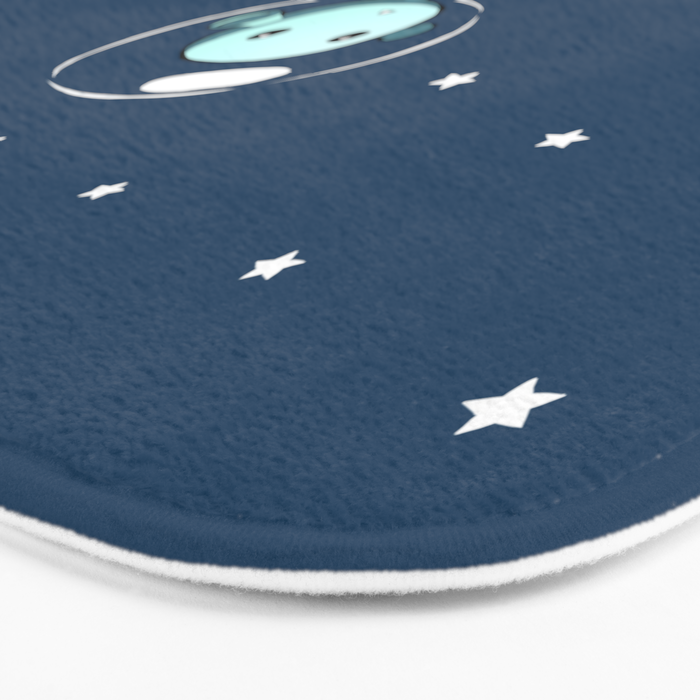 Space Alien Bath Mat