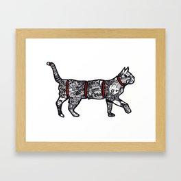 Catisfaction Framed Art Print