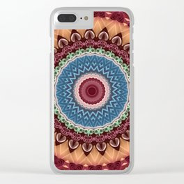Some Other Mandala 458 Clear iPhone Case