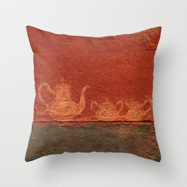 Caipirinha de Café Throw Pillow