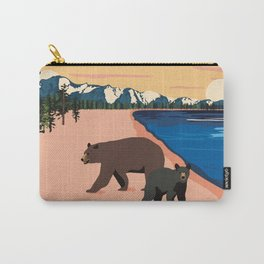 Beach Bears Lake Tahoe Carry-All Pouch