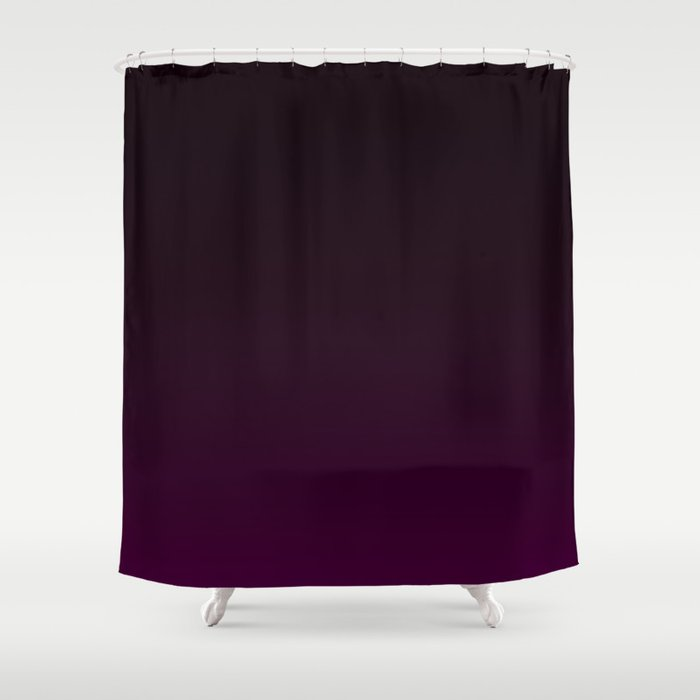 Aubergine Gradient Shower Curtain by colorpopdesign   Society6