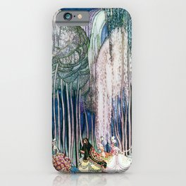 Kay Nielsen - Twelve Princesses Who Get Out Of The Castle And Dance To The Magical Kingdom iPhone Case