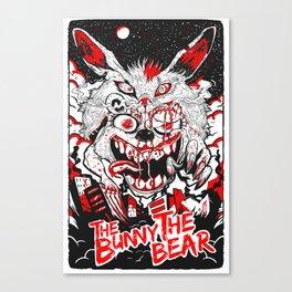 Demon Fluff Canvas Print