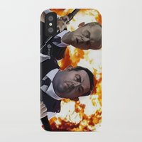 hot fuzz iPhone & iPod Cases featuring Hot Fuzz by Richtoon