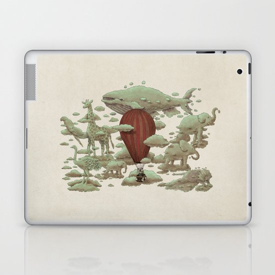 Cloud Watching Laptop & iPad Skin