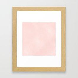 Pink Coral Framed Art Print