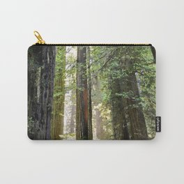 LOOKING UP INTO THE REDWOOD FOREST 3 Carry-All Pouch