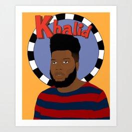 Khalid Art Print