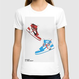 Off White Air x Jordan 1 Poster T-shirt
