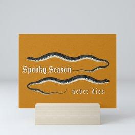 Spooky Season Never Dies Mini Art Print