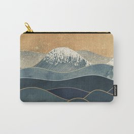 The Great Spring Waves Carry-All Pouch