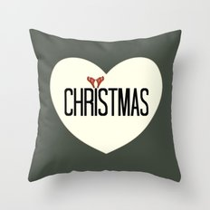 Merry Christmas 1- Holidaze Throw Pillow