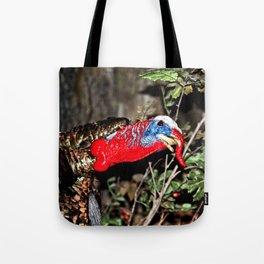 Wild Turkey Close Up Tote Bag