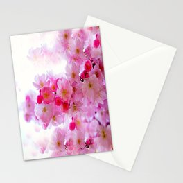 Cherry Blossom Tree So Pink Stationery Cards