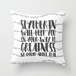 Newleafwriter Custom 2 - V3 Throw Pillow
