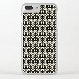 Sherlock Wallpaper Clear iPhone Case