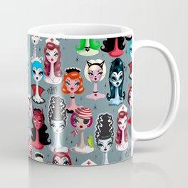 Spooky Dolls Coffee Mug