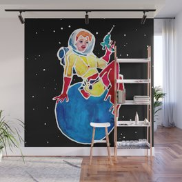 Super Planet Janet Wall Mural