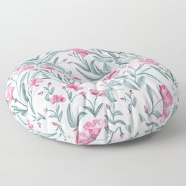 Nerium Oleander Pattern Floor Pillow
