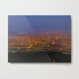Runyon Lights Metal Print