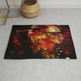 French cancan Rug