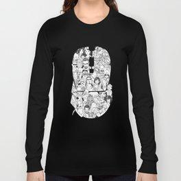 Adulthood Mash-Up Long Sleeve T-shirt