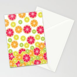 Citrus slices Stationery Cards