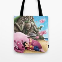 steven universe Tote Bags featuring Steven Universe by toibi