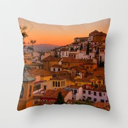 Good Things in Granada II Throw Pillow