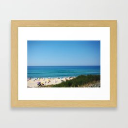 Summer Lines  Framed Art Print
