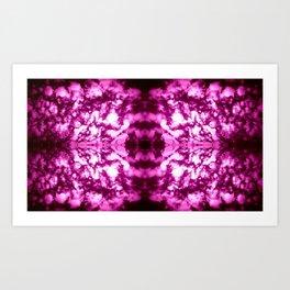 Violet Vibration Art Print