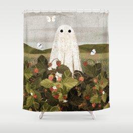 Strawberry Fields Shower Curtain