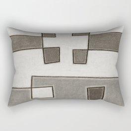 Protoglifo 10 Greyish approaching Rectangular Pillow