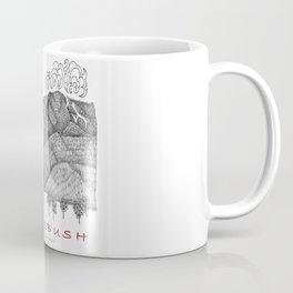 Sugarbush Vermont Serious Fun for Skiers- Zentangle Illustration Coffee Mug