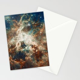 Space Nebula, Star and Space, A View of Galaxy and Outerspace Stationery Cards