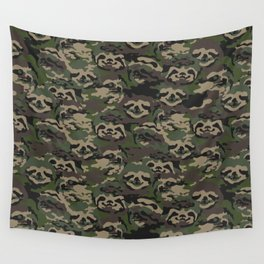 Sloth Camouflage Wall Tapestry