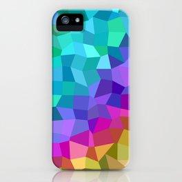 Multicolor mosaic tiles iPhone Case