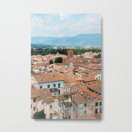 Beautiful Lucca Metal Print
