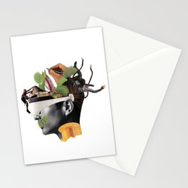 The nowadays man Stationery Cards